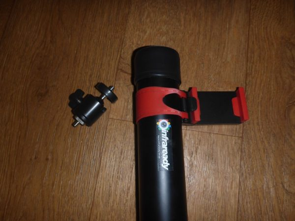 elevated camera pole telescopic 10m aerial photography