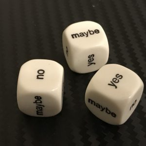 ghost hunting decision maker dice