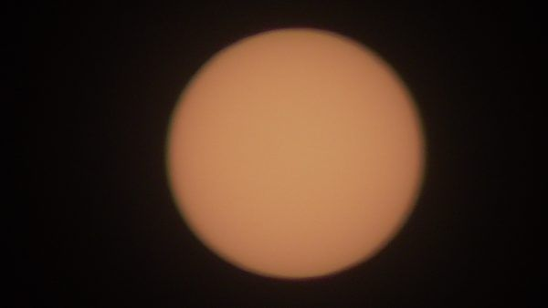 solar viewing filter
