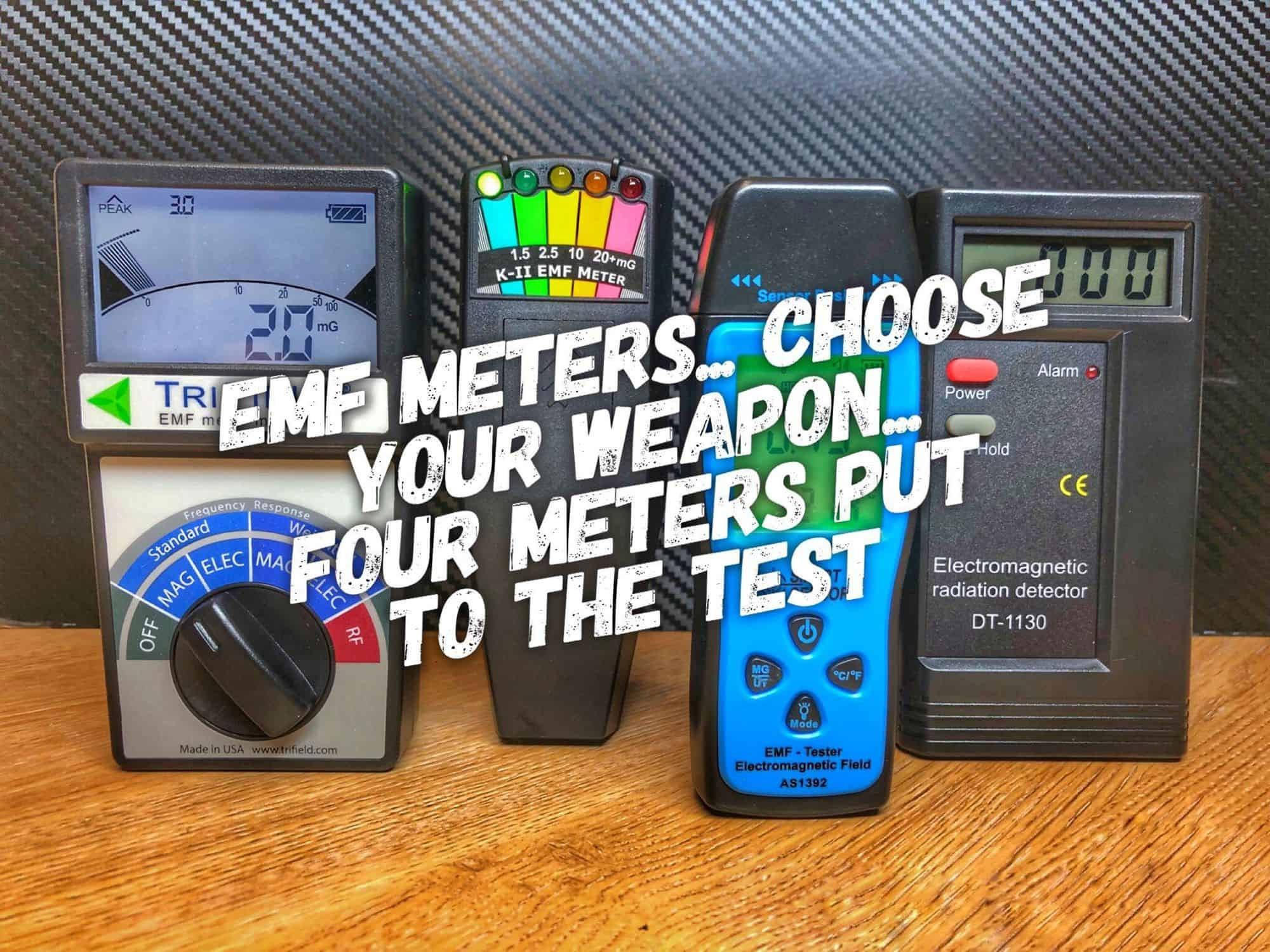 EMF meter comparison