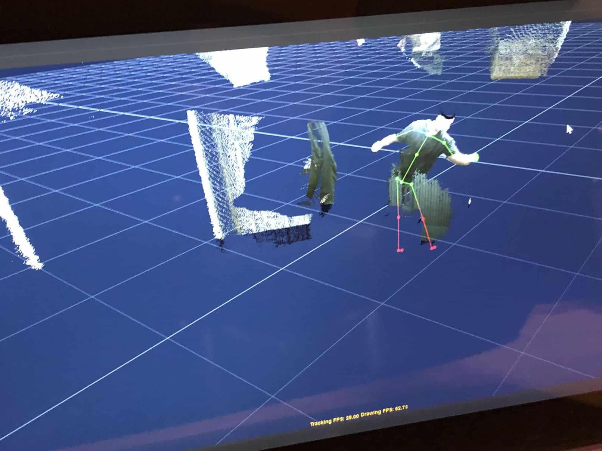 Kinect SLS v2 brekel pro body