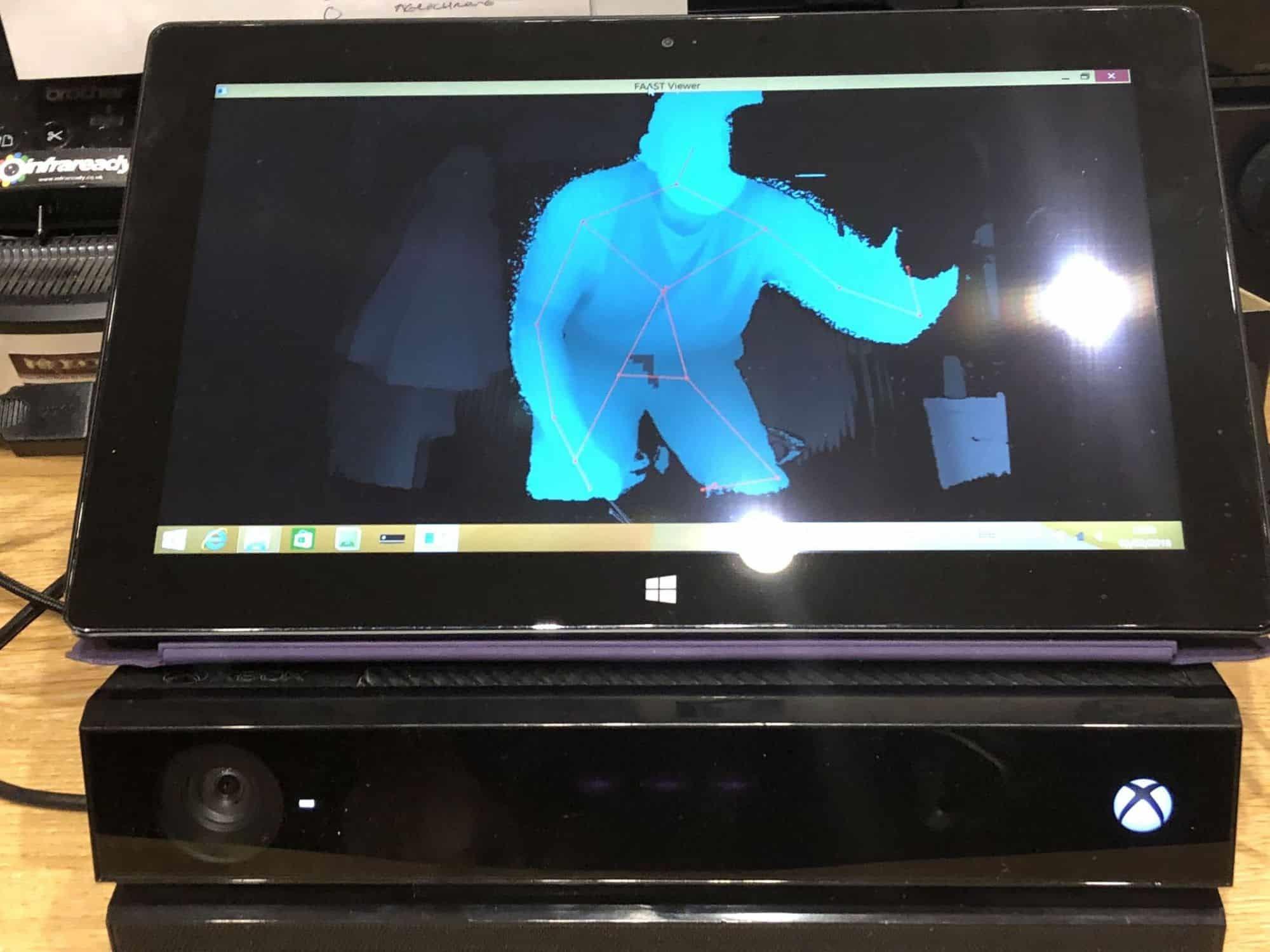 FAAST V2 Kinect SLS 64 bit