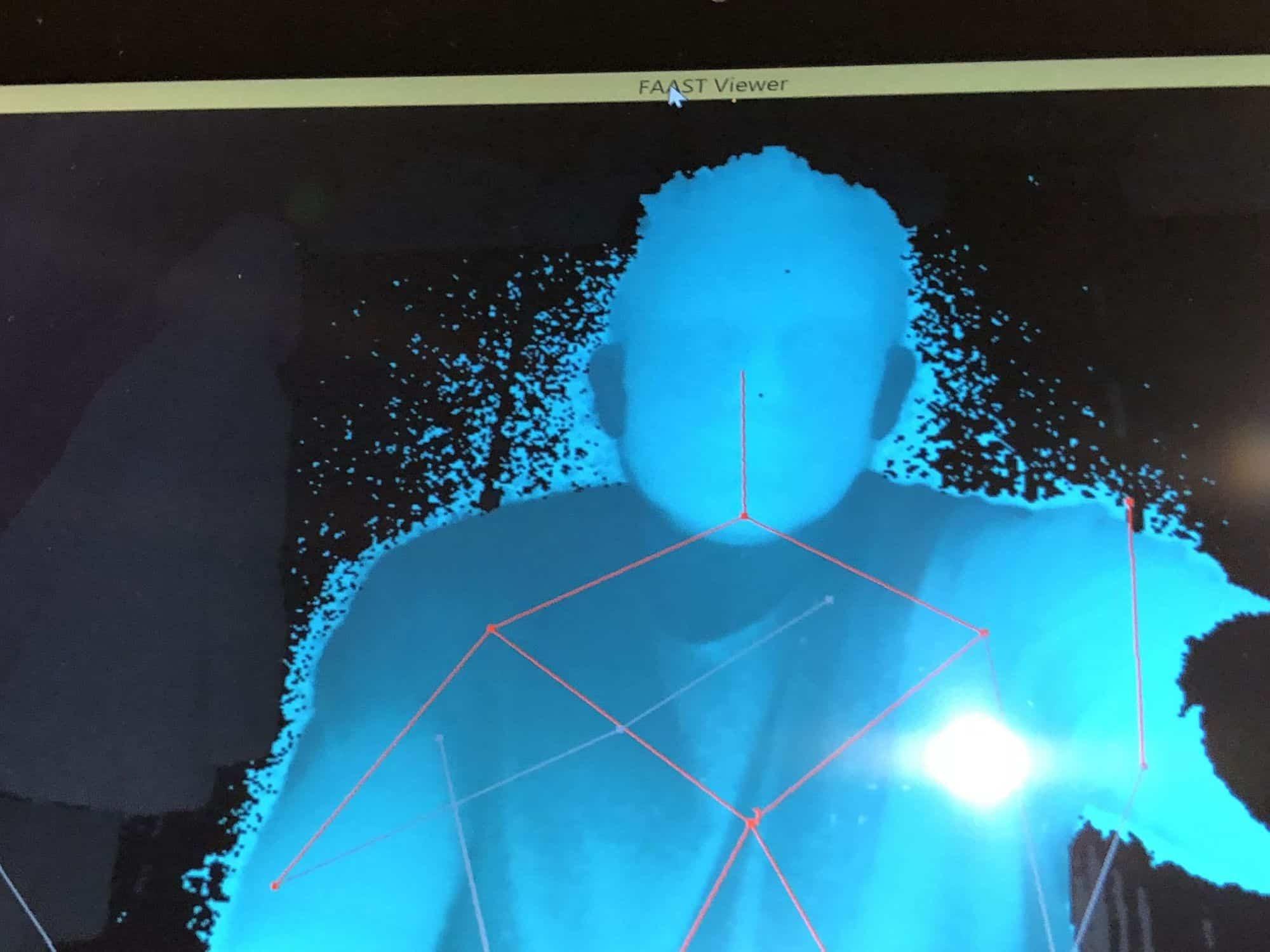 FAAST V2 Kinect SLS 64 bit Tablet