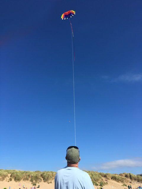 kite camera photography