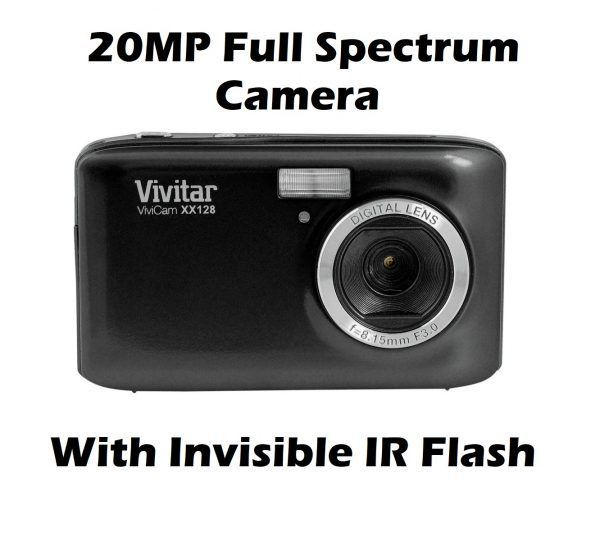 20mp full spectrum ghost hunting nightvision camera