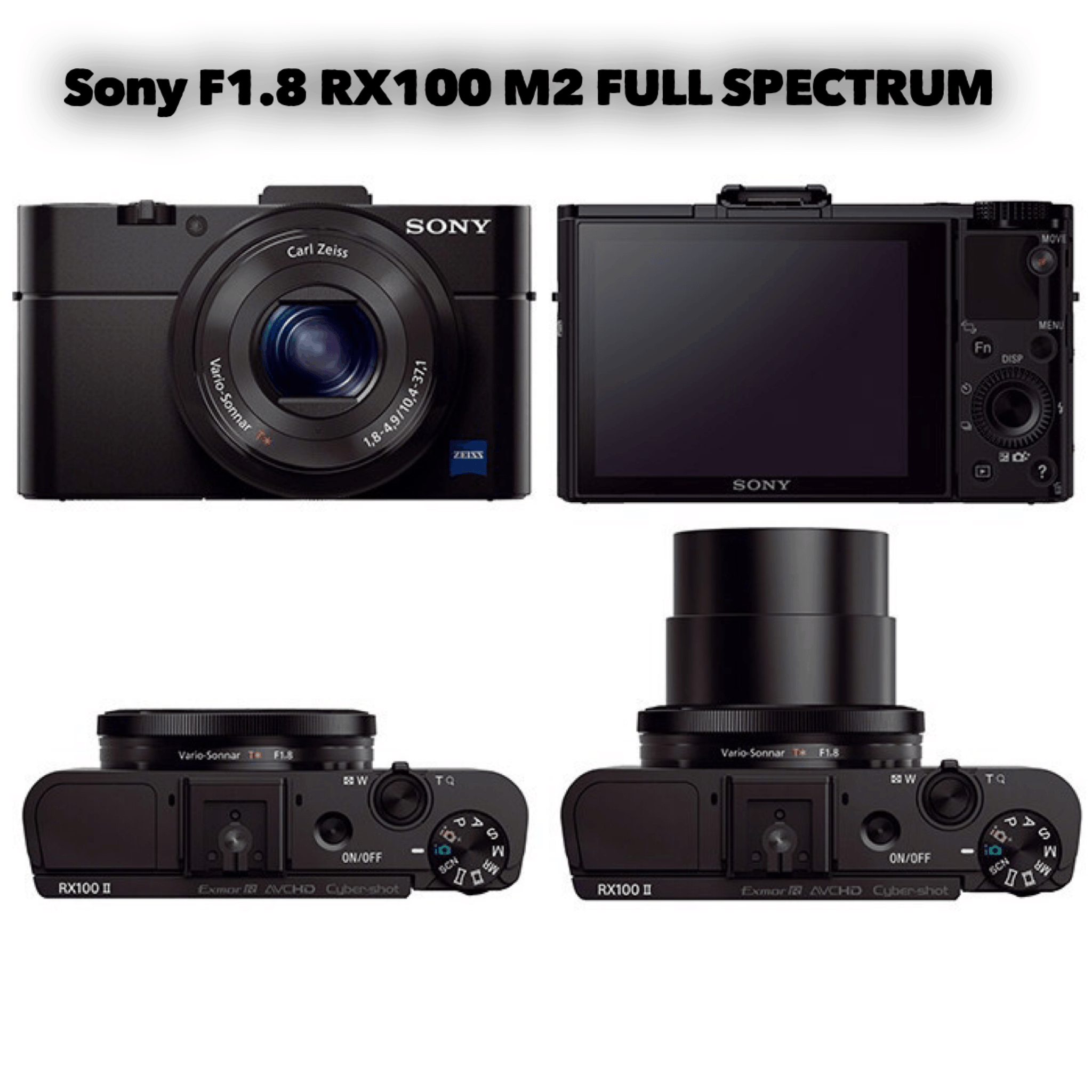 sony rx100 full spectrum infrared converted camera