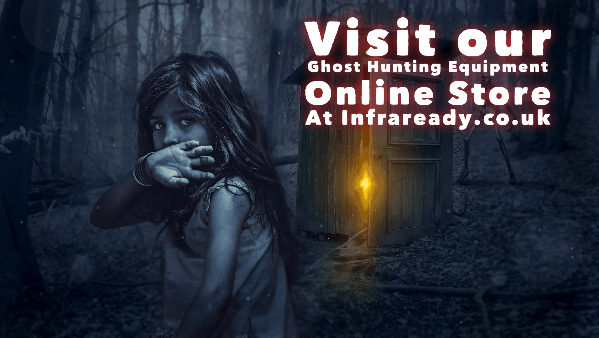Ghost hunting equipment shop